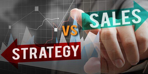 quazar sales plan vs business strategy